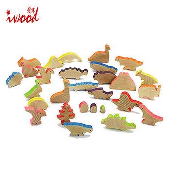 《iwood》恐龍物語積木 | Dinosaur Story Blocks