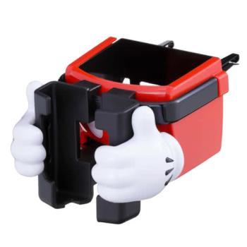 NAPOLEX 米奇冷氣孔手機杯架(WD269)