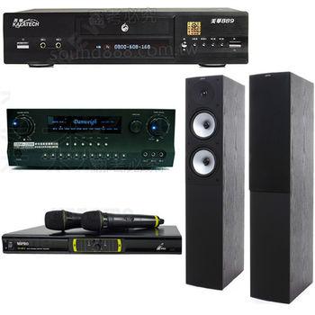 卡拉OK特惠組 美華 K-889+JAMO S526 主喇叭+MIPRO OK-9DⅡ 無線麥克風+DANWEIGH DW 1