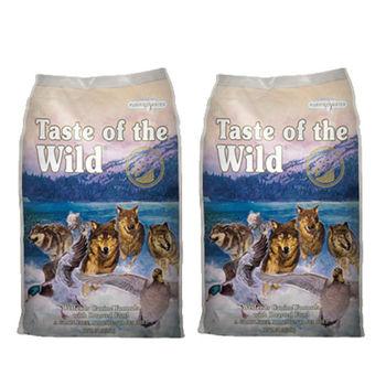 【Taste of the wild】海陸饗宴 荒野鴨肉火雞肉 犬糧 5磅 X 2包