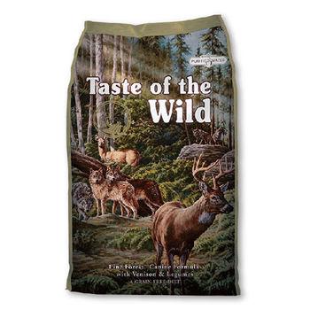 【Taste of the wild】海陸饗宴 松林鹿肉鷹嘴豆 犬糧 13公斤 X 1包