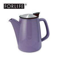 ~美國FORLIFE~復古咖啡兩用壺888 ml ~ 典雅紫 六色