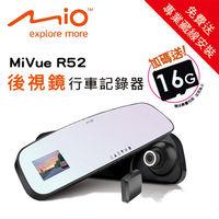 ~Mio~MiVue R52 GPS後視鏡行車記錄器 ^#95 送16G ^#43 藏線