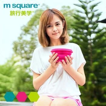 M Square摺疊矽膠碗 L