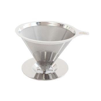 慢拾光 手沖式不鏽鋼咖啡濾杯(2-4人)