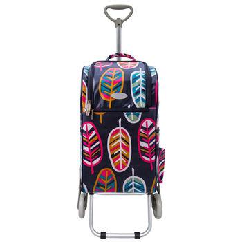 卡蘿輕便時尚購物車-30L三輪-印地安風