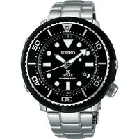 SEIKO 精工 Prospex SCUBA 鮪魚罐頭太陽能 腕錶 V147 ^#45 0