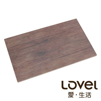 LOVEL 木紋長方形食物擺盤(25x15cm)