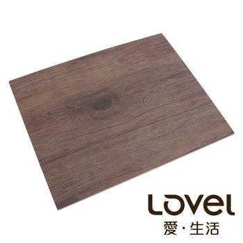 LOVEL 木紋長方形食物擺盤(32.5x26.5cm)