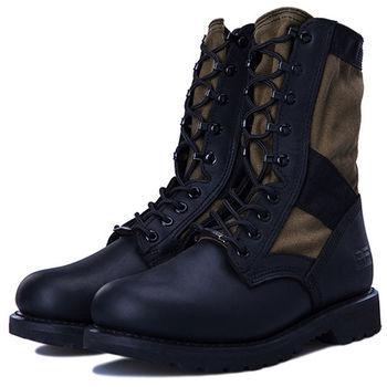 (預購)pathfinder款2287M男士戶外沙漠靴PF牛皮特種部隊戰靴 帆布透氣軍靴(JHS杰恆社)