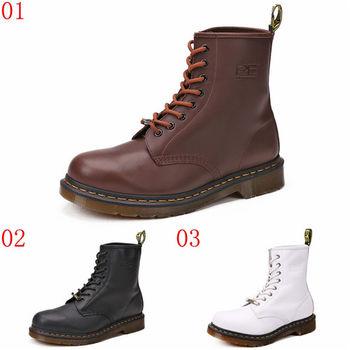 (預購)pathfinder款2084春季男士英倫復古時尚馬丁靴PF真皮街頭朋克高筒靴(JHS杰恆社)