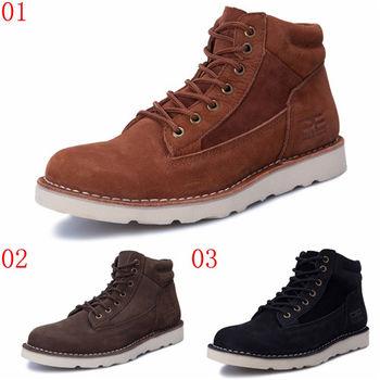 (預購)pathfinder款3364冬季保暖時尚新款男士馬丁靴PF復古潮流戶外工裝棉鞋(JHS杰恆社)