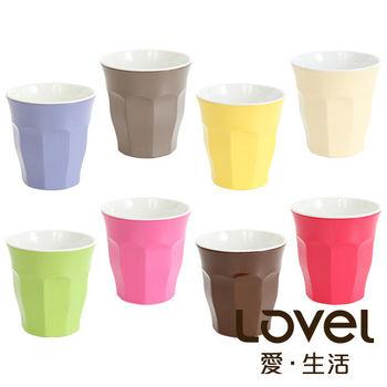 LOVEL 馬卡龍色系水杯300ml8入組(共8色)