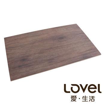 LOVEL 木紋長方形食物擺盤(53x32.5cm)