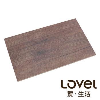 LOVEL 木紋長方形食物擺盤(26.5x16.2cm)