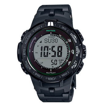 CASIO 卡西歐 PROTREK太陽能登山電波腕錶/PRW-3100FC-1