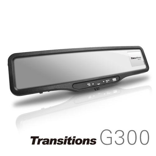 全視線 G300 Full HD高畫質 GPS測速器 後視鏡行車記錄器(加贈16G SD卡)