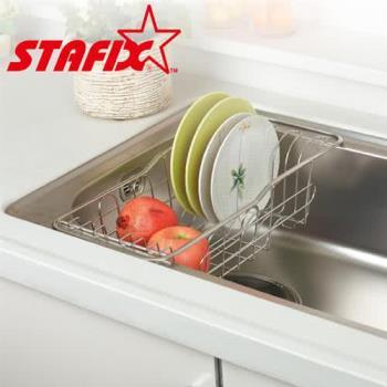 【韓國原裝進口STAFIX】全不銹鋼水槽瀝水架