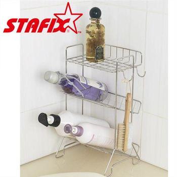 【韓國原裝進口STAFIX】全不銹鋼浴室三層置物架