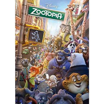 【日本TENYO】迪士尼進口拼圖-動物方城市 300片 D-300-278