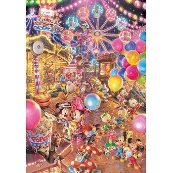 【日本TENYO】迪士尼夜光拼圖-黃昏的遊樂園 300片 D-300-263