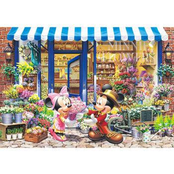 【日本TENYO】迪士尼進口拼圖-米奇米妮的花房 300片 D-300-258