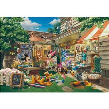 【日本TENYO】迪士尼進口拼圖-米奇的商店 300片 D-300-244