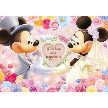 【日本TENYO】迪士尼進口拼圖-米老鼠婚禮的誓言 200片 D-200-895