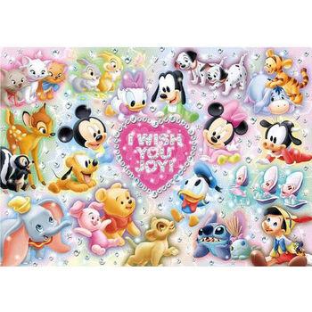 【日本TENYO】迪士尼進口拼圖-米老鼠的baby世界 200片 D-200-894