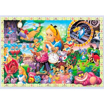 【日本TENYO】迪士尼進口拼圖-愛麗絲夢遊仙境 108片 D-108-966