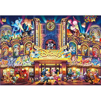 【日本TENYO】迪士尼夜光拼圖-夢幻劇場 108片 D-108-741