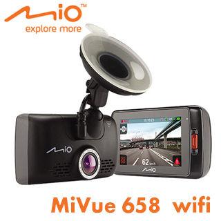 MIO MiVue 658 WIFI 觸控螢幕GPS行車記錄器