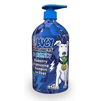 【LUCY】美國原裝 寵物天然沐浴精-神祕藍莓 500ml