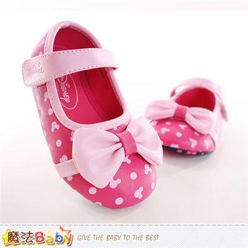 魔法Baby 女童鞋 迪士尼米妮正版專櫃款娃娃鞋~sh9890