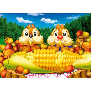 【日本TENYO】迪士尼DISNEY-奇奇蒂蒂 玉米超好吃 108片 D-108-702