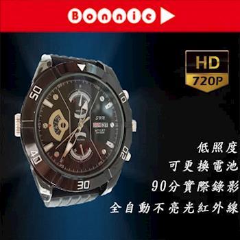 Bonnie K525 1280*720 16G 不亮光紅外燈 低照度可換電池 針孔攝影機