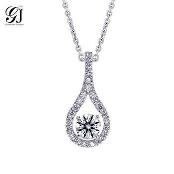 [晉佳珠寶] Gemdealler Jewellery 都市女性時尚 18K金鑽石墬飾 GIA 30分 D/VS1 _預購[DN25]