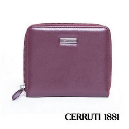 CERRUTI1881拉鍊短夾包030F-56903