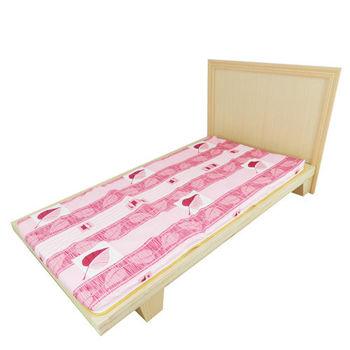 【時尚屋】冬夏兩用3尺單人三折式透氣床墊BU303-3