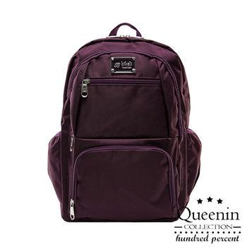DF Queenin - 小資系休閒尼龍後背包-共2色