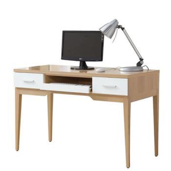 Bernice-蘋果木4尺電腦書桌