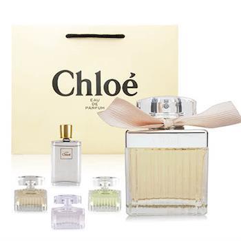 【禮物卡】 Chloe 同名女性淡香精 75ml 贈原廠紙袋+Chloe小香水2份(隨機出貨保證不同款)