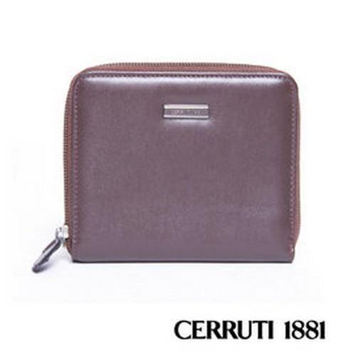 CERRUTI1881拉鍊短夾包030F-56902
