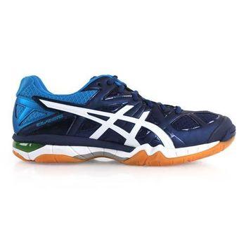 【ASICS】GEL-TACTIC 男排球鞋- 羽球鞋 亞瑟士 丈青藍