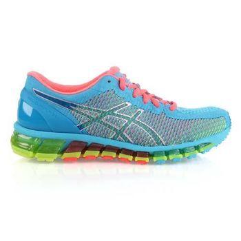 【ASICS】GEL-QUANTUM 360CM女慢跑鞋- 路跑 亞瑟士 湖水藍綠