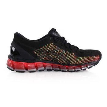 【ASICS】GEL-QUANTUM 360CM女慢跑鞋- 路跑 亞瑟士 黑桃紅綠