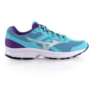 【MIZUNO】SPARK女慢跑鞋- 健走 運動 休閒 美津濃 湖水藍紫
