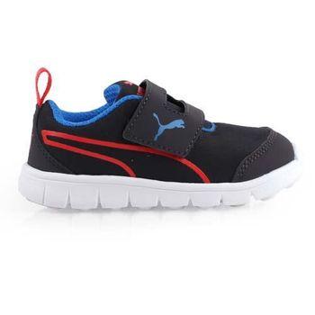 【PUMA】BAO 2 V PLAY INF男女兒童休閒運動鞋 -童鞋 黑藍紅