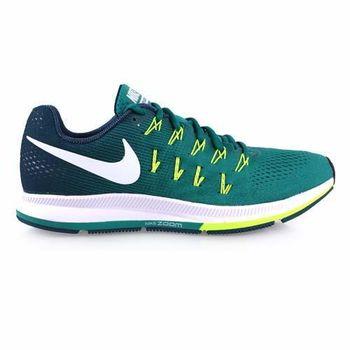 【NIKE】AIR ZOOM PEGASUS 33 男慢跑鞋-路跑 夜跑 綠螢光黃