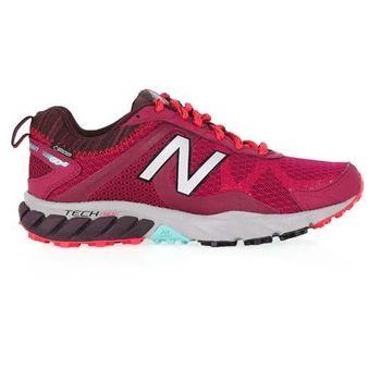 【NEWBALANCE】610 V5 女越野慢跑鞋- NB N字鞋 路跑 葡萄紫
